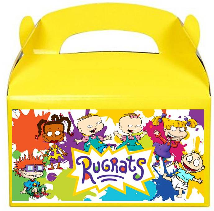 Rugrats Favor Candy Boxes