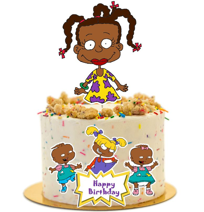 African Susie Rugrats Cake Topper