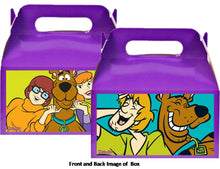 Load image into Gallery viewer, Scooby Doo Treat Favor Boxes 8ct