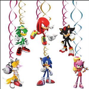 Sonic Birthday Decorations
