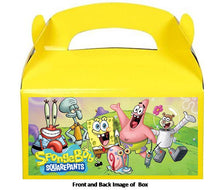 Load image into Gallery viewer, Spongebob Favor Treat Boxes 8ct