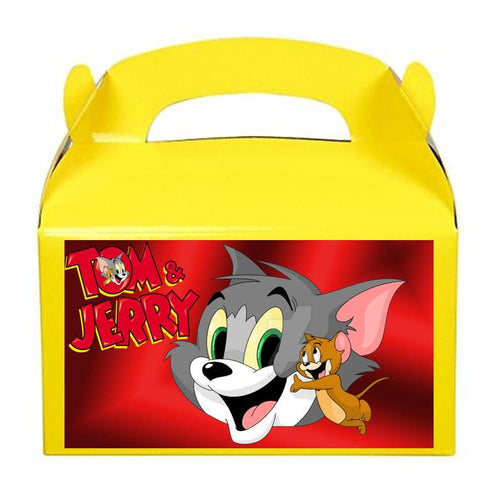 Tom and Jerry Treat Favor Boxes, Party Supplies