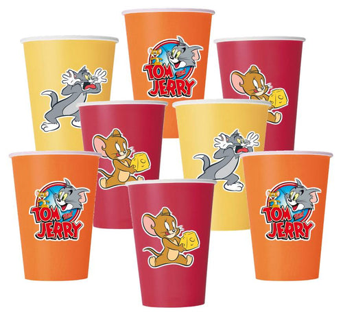 Tom and Jerry Party Paper Cups