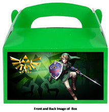 Load image into Gallery viewer, Legend of Zelda Party Treat Favor Boxes 8ct, Style #002