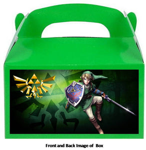Legend of Zelda Party Treat Favor Boxes 8ct, Style #002