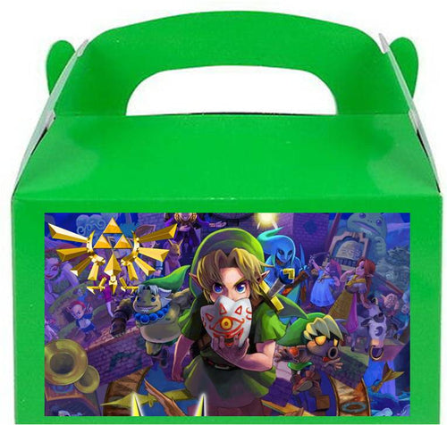 Zelda Treat Favor Boxes, Party Supplies
