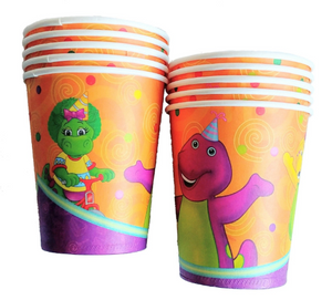 Barney Party Supplies Cups