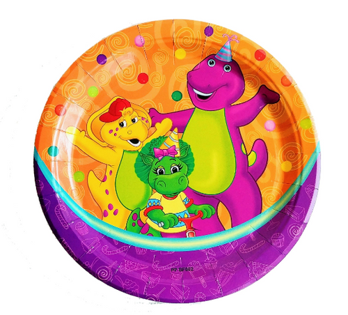 Barney Party Supplies Plates