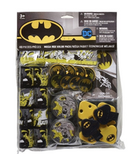 Load image into Gallery viewer, Batman Party Favors 48pc, Batman Birthday Party Supplies