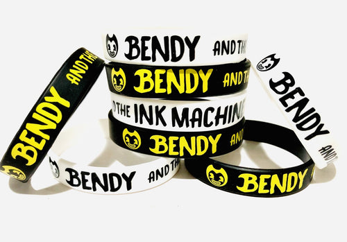 Bendy and The Ink Machine Wristbands, Party Favors
