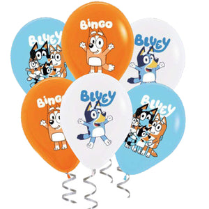 Bluey Party Balloons
