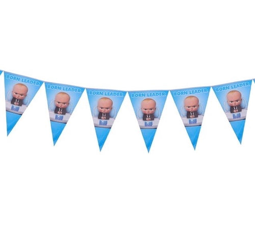 Boss Baby Party Banner, 8ft