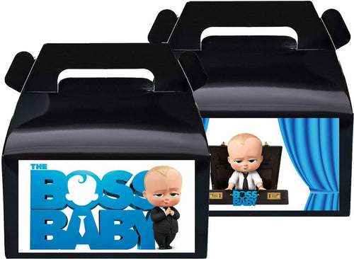 Boss Baby Treat Favor Boxes, Party Supplies