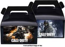 Load image into Gallery viewer, Call of Duty Treat Favor Boxes 8ct