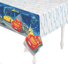 Load image into Gallery viewer, disney pixar cars table cover tablecover tablecloth