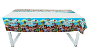 Cocomelon Plastic Tablecover, 7ft Long