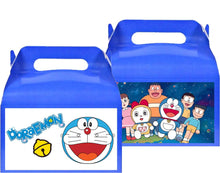 Load image into Gallery viewer, Doraemon Treat Favor Boxes, Party Supplies