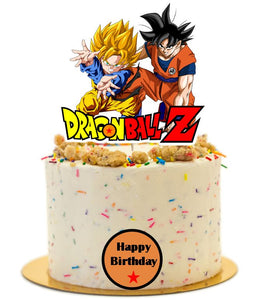 Dragon Ball Z cake topper, cake decorations, dragonball z cake topper