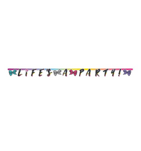 Load image into Gallery viewer, Jojo Siwa Life's A Party Birthday Banner, 6.25ft long