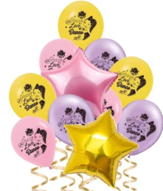 Jojo Siwa Balloons, Decorations