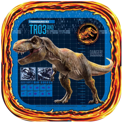 Jurassic World Park Plates, Party Supplies