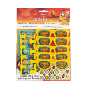 Lion King 48pc Party Favors, Birthday Party Supplies