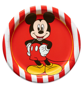 "Classic Mickey Mouse 7"" Party Dessert Paper Plates, 8ct"