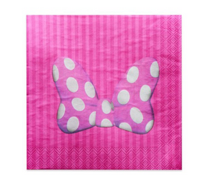 Minnie mouse birthday party supplies, decorations, minnie mouse napkins