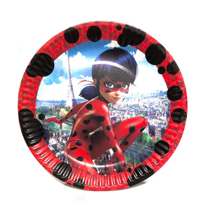 "Miraculous 7"" Party Dessert Paper Plates, 8ct"