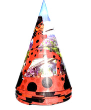 Load image into Gallery viewer, Miraculous Party Paper Hats, 8ct