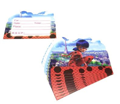 Miraculous Party Invitations, 8ct