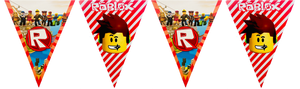 Roblox party supplies banner