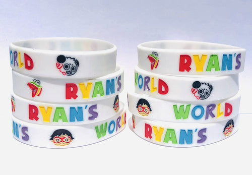 Ryans World Wristbands Party Favors