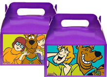 Load image into Gallery viewer, Scooby Doo Treat Favor Boxes, Party Supplies