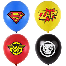 Load image into Gallery viewer, Superhero Party Balloons
