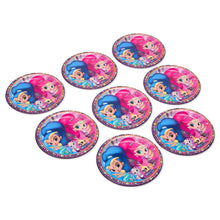 Load image into Gallery viewer, Shimmer and shine party plates