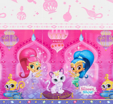 Load image into Gallery viewer, shimmer and shine tablecover table cover tablecloth
