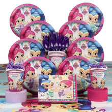 Load image into Gallery viewer, Shimmer and shine birthday party supplies