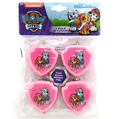 Skye Party Favor Keychains, 4pc