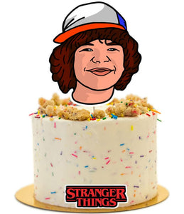 Stranger Things Cake Topper, Stranger Things Birthday Party Supplies