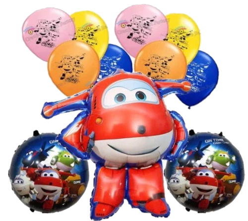 Super Wings Balloons, Decorations Birthday Party Supplies
