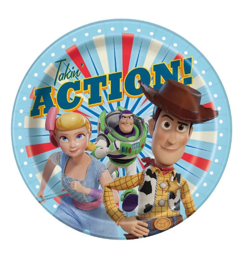 Toy story birthday party supplies, toy story plates, toy story decorations