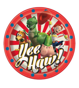 Toy Story 4 Dessert Plates, Toy Story Party Supplies