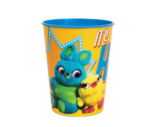 Toy Story 4 Plastic Reusable 16oz Favor Cup, 1ct