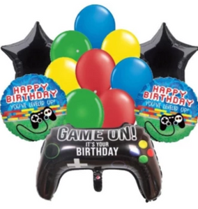 Video game birthday party supplies, decorations, balloons