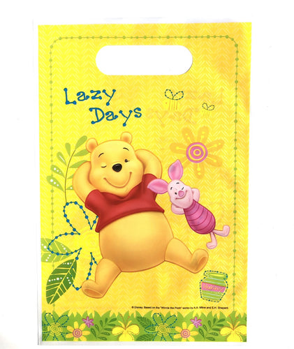 Classic Winnie The Pooh Party Treat Bags, 8ct