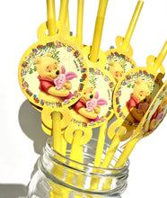 Load image into Gallery viewer, Classic Winnie The Pooh Party Straws, 8ct