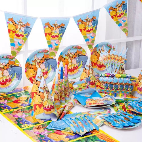 Winnie The Pooh Birthday Party Supplies