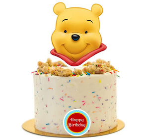 Winnie The Pooh Cake Topper, Cake Decorations, Party Supplies