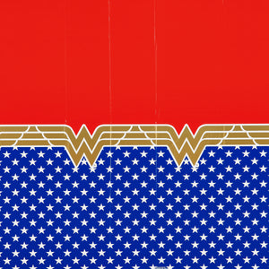 Wonder Woman Plastic Tablecover